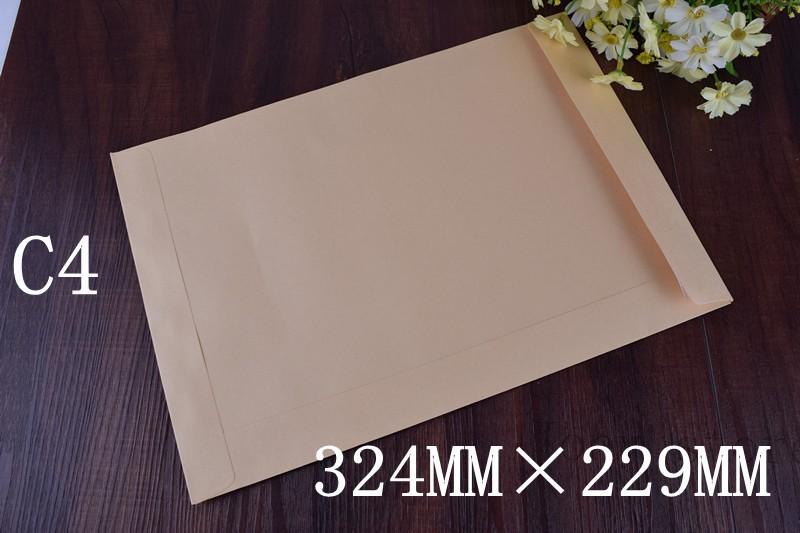 100pcs  C4  Envelopes Peal &amp; Seal Quality   Plain Posting Office Business  -324mm x229mm   Self-Seal envelopes<br><br>Aliexpress