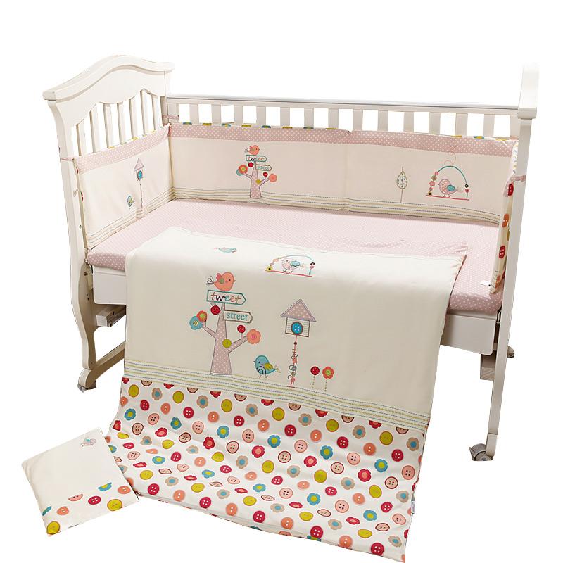 online kaufen gro handel vogel baby bettw sche aus china. Black Bedroom Furniture Sets. Home Design Ideas