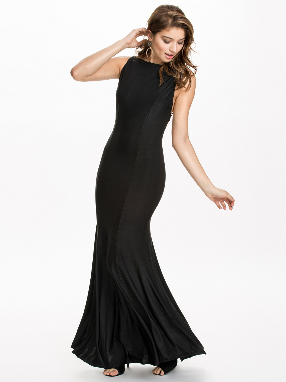R70215 Hot selling Women dress 2015 Backless long dress ohyeah Sexy club wear top sale black Summer dress new style long dress(China (Mainland))