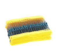 Free Shipping 600 Pcs 1/4W 1% 30 Kinds Each Value Metal Film Resistor Assortment Kit Set