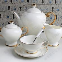 Free shipping, Fashion princess coffee 21 porcelain tea set luxury gift coffee