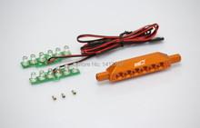 Baja 5B repuestos, aleación luces LED kits ( naranja. Silver color seleccione ) envío gratuito
