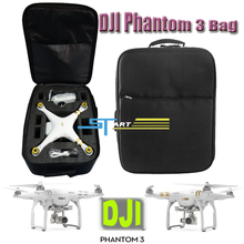 10 pcs/lot Wholesale DJI bags Backpack Bag black for dji phantom 3 professional & advanced rc fpv Camera Drone Quadcopter toys
