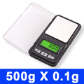 Hot 500g 0 1g Mini Portable Digital Weight Pocket Balance Gram Jewelry Scale LCD