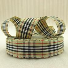10Y42279 7 8 22mm font b scotish b font ribbon high quality printed polyester ribbon 10