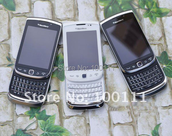 BlackBerry 9810 Torch GPS WIFI 5MP JAVA QWERTY Keyboard Unlocked Mobile Phone Free Shipping(Hong Kong)