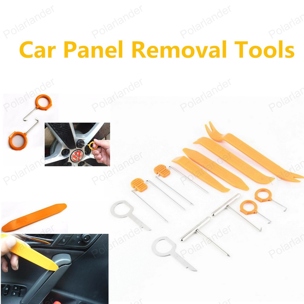 Горячая распродажа автомобиля средство для удаления панели комплект инструментов ремонт автомобилей комплект инструментов 12 шт./компл. высокое качество
