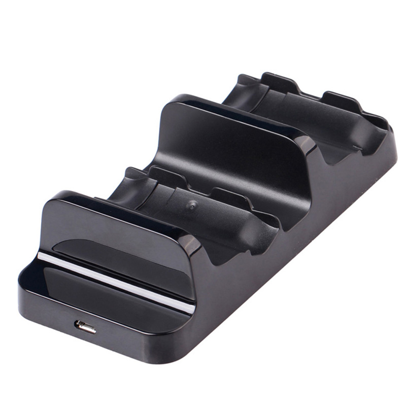 Black Dual Charging Dock Station With 2Pcs Battery for Xbox One Wireless Controller(China (Mainland))