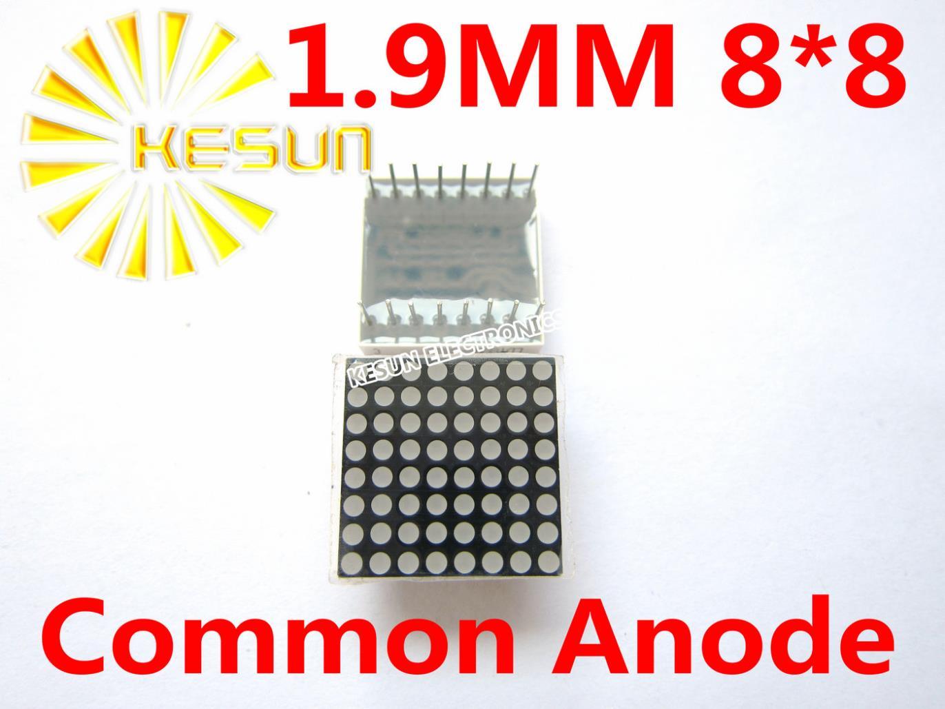 20 pcs/lote 1.9 MM 8 X 8 rouge Anode commune 20 * 20 Tube LED Dot Matrix numérique Module 788BS(China (Mainland))