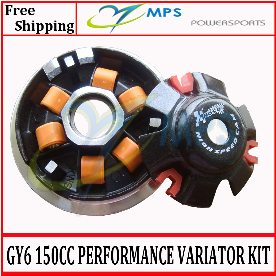 GY6 125cc 150cc Scooter engine parts High performance variator kit driving pulley assy for 152QMI 157QMJ