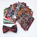 men s fashion pocket square tie handkerchief Wedding party plaids men hanky scarf FJ 01