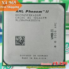 Pour AMD Phenom II X4 965 CPU processeur Quad - CORE ( 3.4 GHz / 6 M / 125 W / 2000 GHz ) Socket am3 am2 + livraison gratuite 938 pino(China (Mainland))
