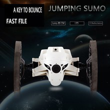 2015 New Bounce Car SJ80 RC Cars 4CH 2.4GHz Jumping Sumo RC Car with Flexible Wheels Remote Control Robot Car