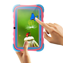 Kids Education Original iRulu Brand 7 Tablet PC for kids Quad Core Dual Camera A7 Android