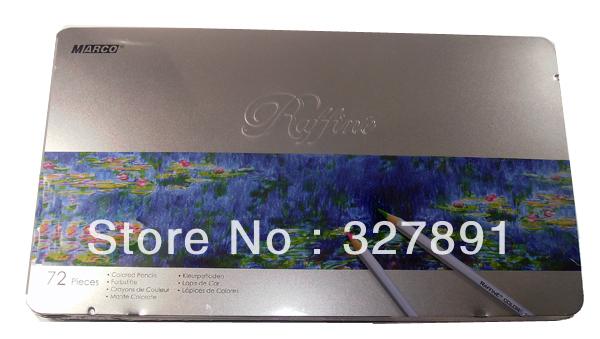 72 PC Marco marco oily colored pencil 7100-72tn core iron boxed