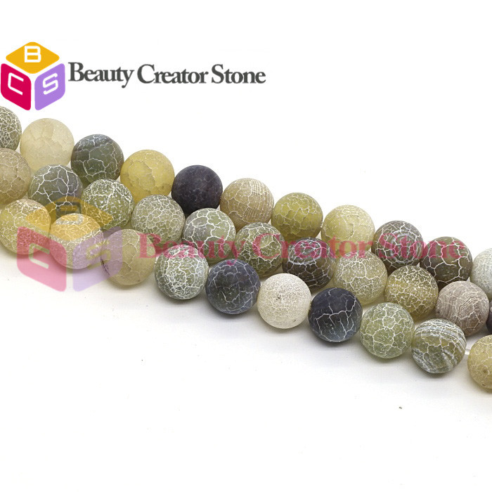 "Wholesale 2015 new hot green yellow black Natural agate onyx stone round ball beads 6-8mm 15"" strand/lot jewelry making BCS-156(China (Mainland))"
