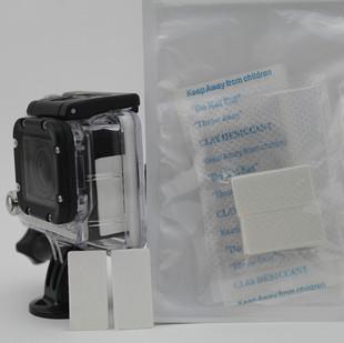 Gopro hero3 professional antimist insert black dog waterproof anti-fog 3 desiccatant(China (Mainland))