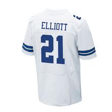 Men's 21 Ezekiel Elliott 4 Dak Prescott Jerseys Embroidery 88 Dez Bryant 22 Emmitt Smith 82 Jason Witte Jersey Thanksgiving blue(China (Mainland))