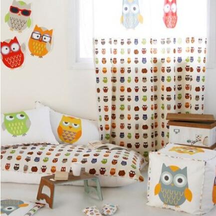 vente en gros rideaux hibou d 39 excellente qualit de grossistes chinois rideaux hibou. Black Bedroom Furniture Sets. Home Design Ideas