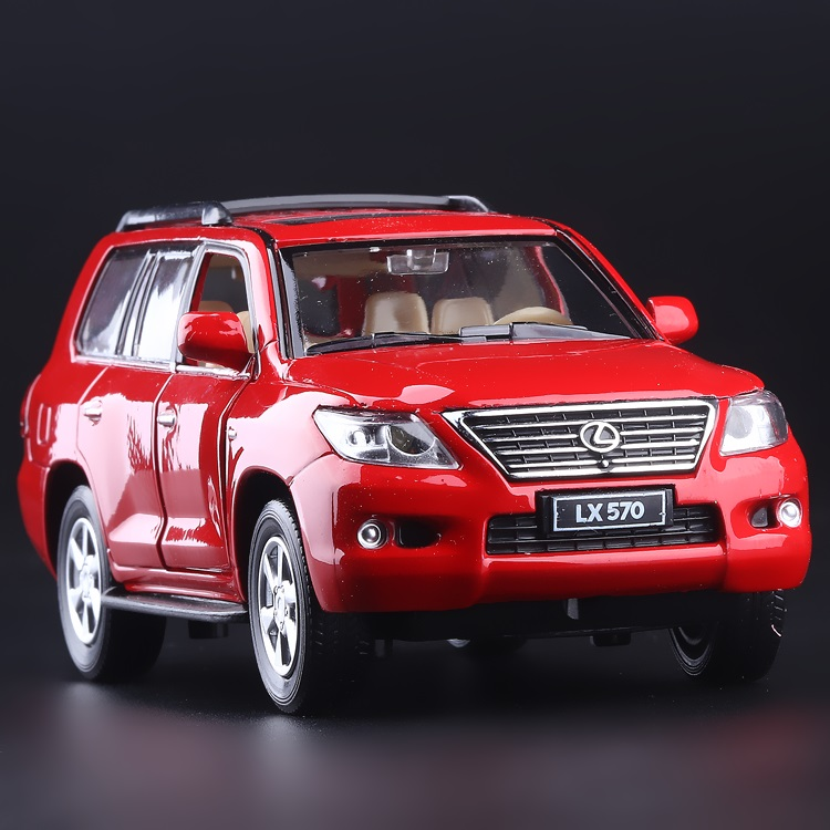 High Simulation Exquisite Diecasts & Toy Vehicles: Caipo Car Styling LEXUS LX570 Luxury Off-Road SUV 1:32 Alloy Diecast Model(China (Mainland))