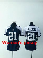 A+++ Women ladies all stitched Dallas Cowboys ladies 11 Cole Beasley 50 Sean Lee Embroidery Logos size S to XXL(China (Mainland))