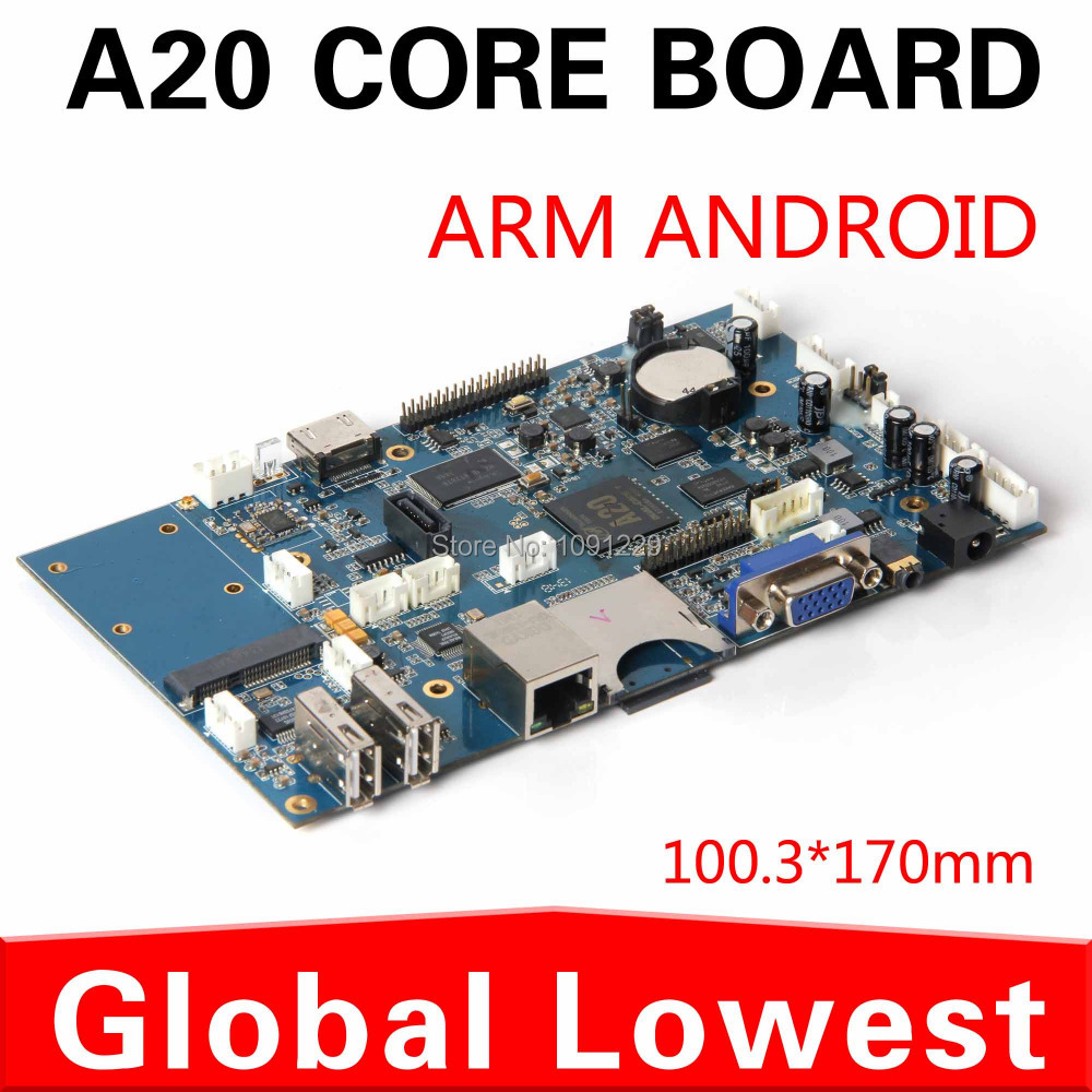 hot sale android board Intelligent motherboard A20 allwinner motherboard with SD card/ wifi Advertising machine dedicated(China (Mainland))