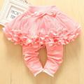 Girls Autumn Fashion Cotton Leggings With Tutu Skirt Kids Pants Baby Leggings Baby Girl Pants