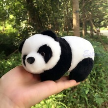 16cm Lovely Super Cute Stuffed Kid Animal Soft Plush Panda Gift Present Doll Toy(China (Mainland))