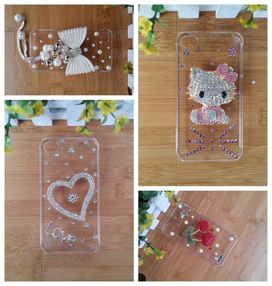 """flower peacock fox sheep crown noble Bling jewel diamond protective cover case for iPhone 6s 4.7 inch 4.7""""(China (Mainland))"""