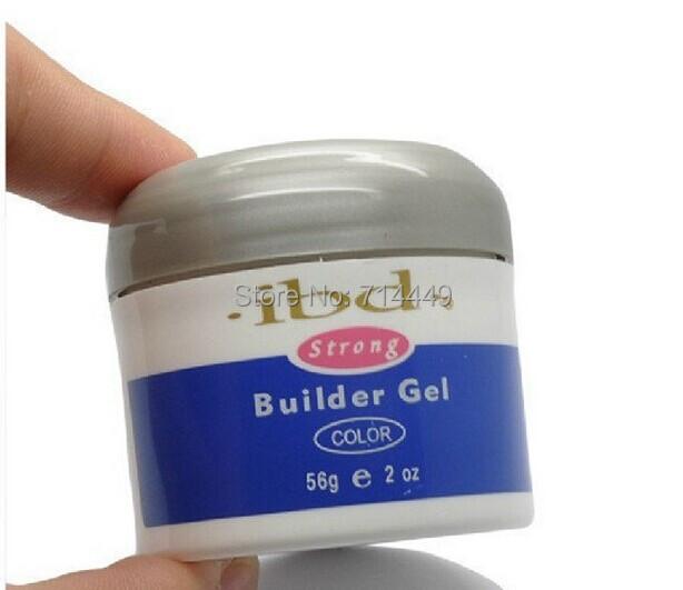 1pcs Nail IBD Gel Builder Nail Gel Pink Clear White Beauty Salon 2oz / 56g Strong UV Ge Nail Art false tips extension(China (Mainland))