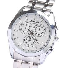 Venta al por mayor del reloj hombre impermeables de lujo del movimiento de japón de acero inoxidable de halloween regalos de cumpleaños