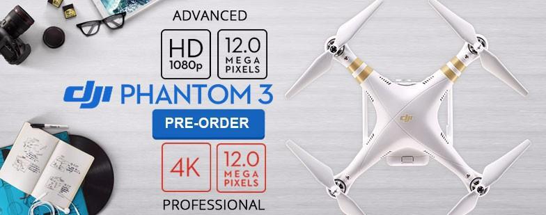 100% original DJI Phantom 3 Advanced Version With 1080P HD Camera RC Quadcopter RTF