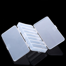 Fish Lures Hard Plastic Cases 14 Compartments Double Sided Spinner Useful Multi-function Fly Fishing Storage Tackle Box(China (Mainland))