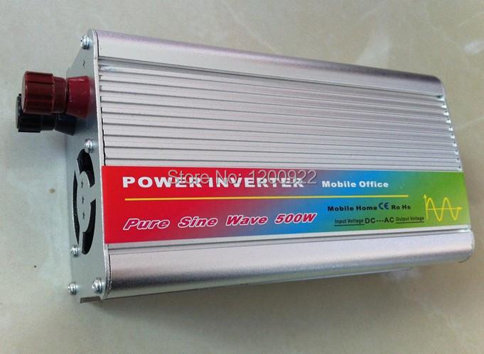 Фотография DHL Fedex UPS express 1000w peak inverseur de panneau solaire solar panel inverter 500W Pure sine wave Inversor