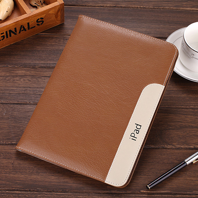 Luxury Business PU Leather Case iPad 2 3 4 Ultrathin Flip Book Cover Smart Tablet Stand Card Holder - Shenzhen Yueyang Trading Co., LTD store