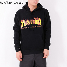 Thrasher Hoodie men Sportwear tracksuit Moletom skate sweatshirt hip hop palace skateboards trasher mens hoodies and sweatshirts(China (Mainland))