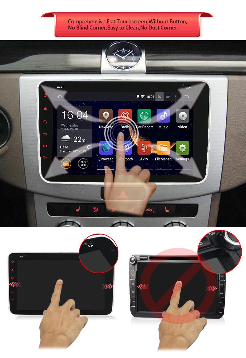 Автомагнитола 4.4 VW Passat b6/b7/Passat cc/jetta/caddy/tiguan 3G GPS Wifi