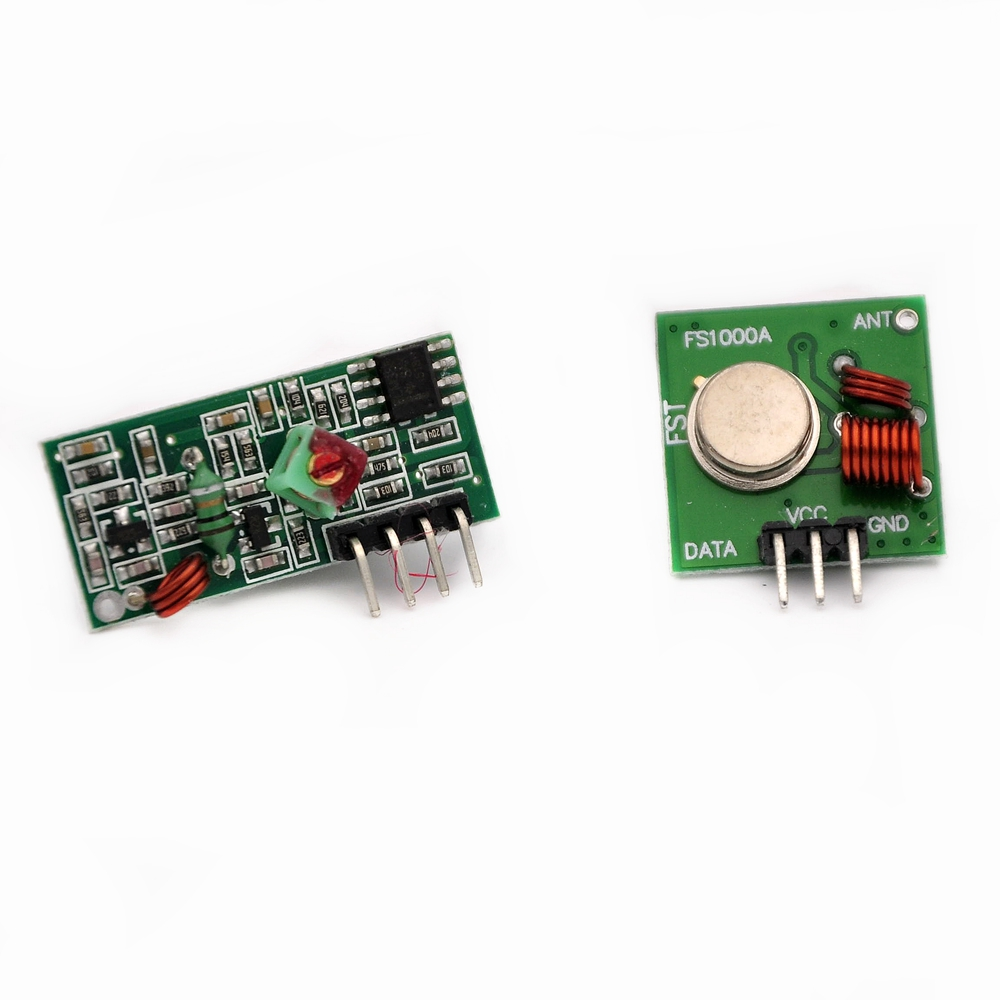 86077 1Lot= 1pair (2pcs) 433Mhz RF transmitter and receiver Module link kit for Arduino/ARM/MCU WL diy 433mhz wireless(China (Mainland))