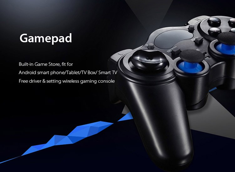 2.4G Gamepad Android Controllers Wireless Gamepad Joystick Android Controller for Tablet PC Smart TV Box for Samsung Xiaomi (8)