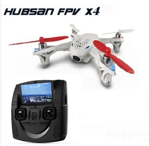 Original Hubsan X4 H107D RC Mini Drone 5.8G FPV RTF 6-axis Quadcopter Helicopter with LCD Transmitter Camera LED Lights(China (Mainland))