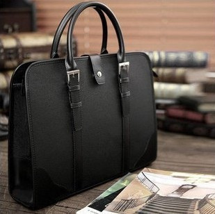 2013 man bag male handbag shoulder bag briefcase men's commercial casual bag