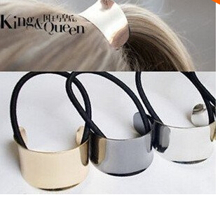 Hot Sell Fashion Gold Plated Hair Accessories Hair Bands gold metal headband fashion free shipping H6