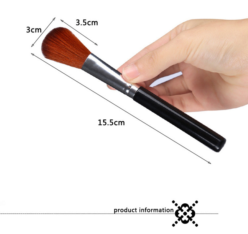 1pcs/lot Large cheek is red brush Soft paint  Makeup Cosmetic Brush Professional Beauty tools cleaner kit blending Powder set