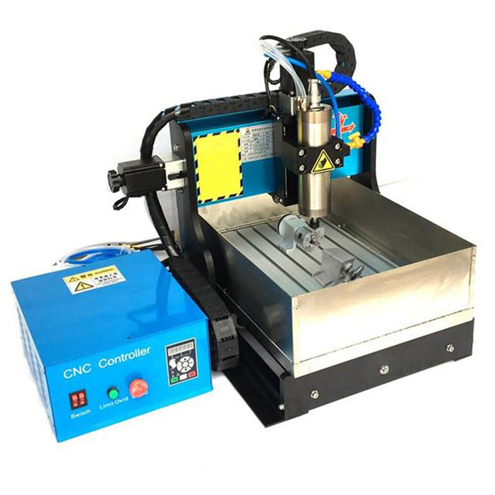 JFT High Efficiency CNC Router Machine High Precision 4 Axis 1500W USB Port CNC Machines Wood Bead Making Machine 3040