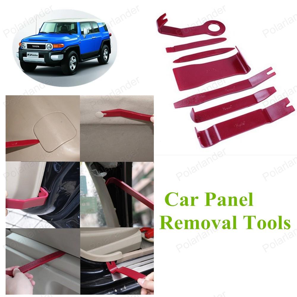 Бесплатная доставка авто панели инструмент полный комплект 7 шт./компл. ремонт комплект комплект инструментов