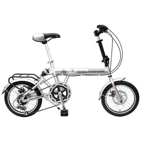 Great Gift 16'' Wheel Cool Folding Bicycle with Excellent Quality Fun Bike Ride(China (Mainland))