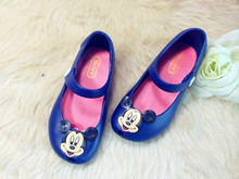 Mini Melissa Jelly Sandals For Baby Girls&Boys Children Summer Cute Minnie&Mickey Cartoon Beach Shoes 2015 Infantil Sandalia 04(China (Mainland))