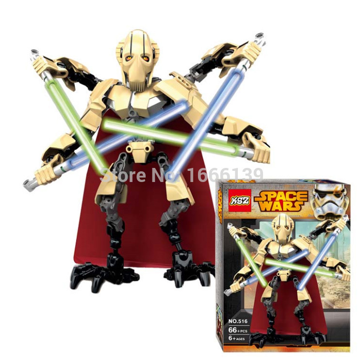2015 new Limited Edition Star War Prince of the Devils Robot Minifigure Building Block Toys Action Figure Compatible With Lego(China (Mainland))