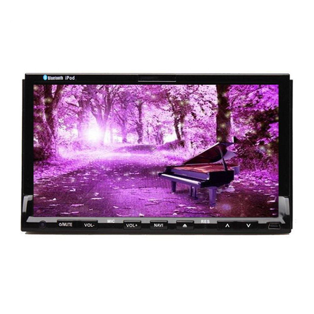 2016 new car stereo systems Double 2 din dvd player for car gps navigation In dash Car PC Stereo Head Unit video+Free Map Card(China (Mainland))