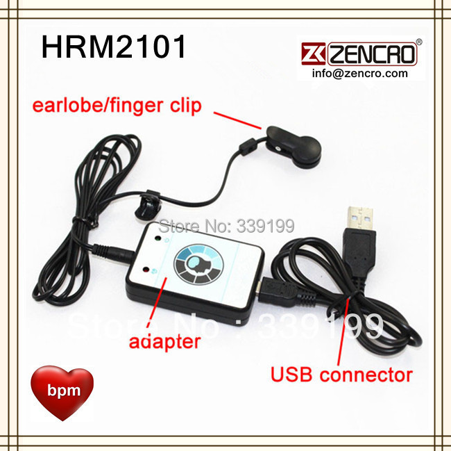 Finger Clip Sensor USB Heart Rate Monitor(China (Mainland))